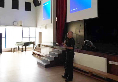 The hate crime workshop by Constable David Clark
